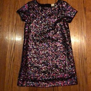 Girls sequins dress size 6-7